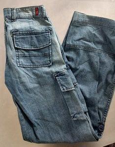Hotkiss Premium Distressed Cargo Jeans